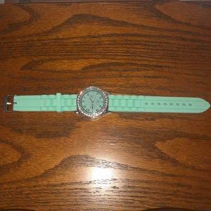 Teal Silicone Watch